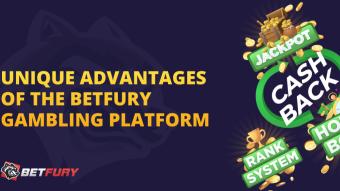 BetFury Guide - Unique Advantages
