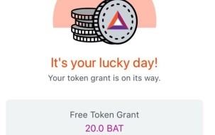Brave Enables BAT Rewards for Iphone - Activate and receive a grant