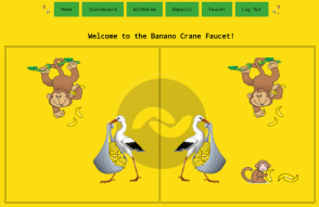 BANANO Crane Faucet goes online tomorrow! Only online for a short time!