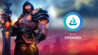 Use OpenSea to trade your Gods Unchained Cards & earn bounties.
