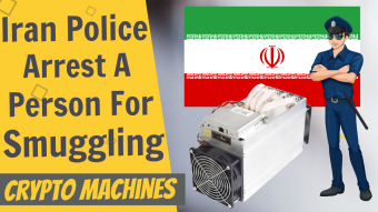 Iran Police Arrest Person Smuggling Crypto Mining Machines