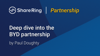 ShareRing Partners with BYD