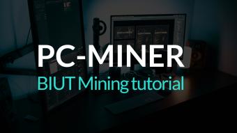 BIUT, Simple PC-MINER Mining Tutorial
