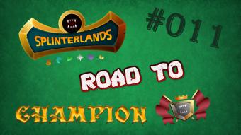 Splinterlands - Road to Champion #011 - I'm still alive! & Big Splinterlands News