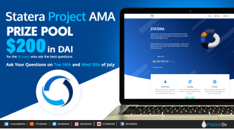Statera Project AMA: $200 in DAI Prize Pool for Participants! #StateraAMAPublish0x