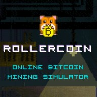 Rollercoin cool mining game to earn BTC