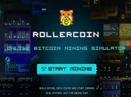 Rollercoin mining simulator game (faucet)
