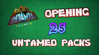 Opening 25 Splinterlands UNTAMED Packs