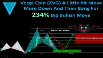Verge Coin (XVG) A Little Bit Move More Down And Then Bang For 234% Big Bullish Move