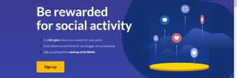 Snax - A Blockchain Social Media Platform That Pays Users For Their Social Activities