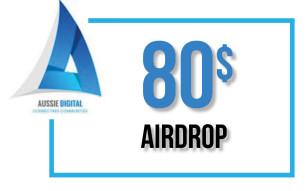 80$ AUD Airdrop