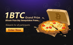 Win up to 1 BTC for almost nothing - BitForex Pizza Day