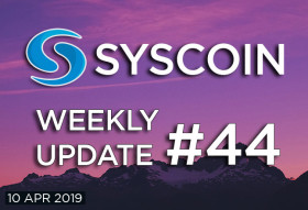 Syscoin Weekly Update #44