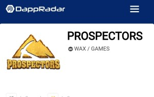 WAX Prospectors hit 13.000 daily users!