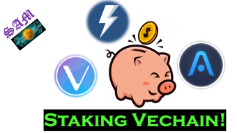 How to Stake Vechain on Atomic Wallet!