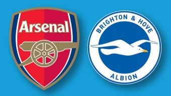Arsenal Set to Lock Horns Against Brighton at the Emirates Stadium