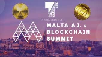 Transcendence at huge AIBC Summit in Malta