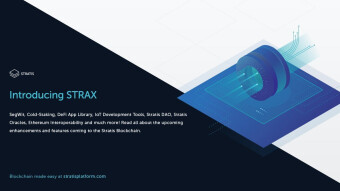 StraX  to replace Stratis proposal
