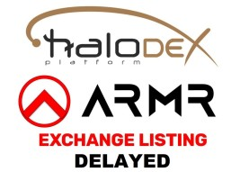 Halo Reports a Listing Delay