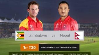 Zimbabwe won by 5 wickets.