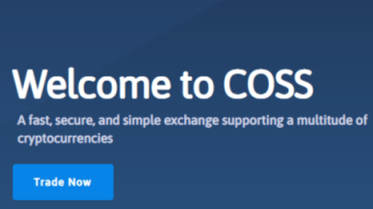 COSS Exchange exit/drama keeps going.
