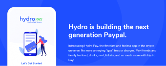Hydro Pay The Future of Online Payments- Use Your Hydros from Publish0x