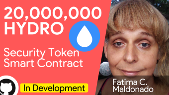 🎙 Interview with Fatima on the largest Hydro bounty program 💧20.000.000 HYDRO Tokens reward