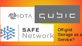 Nextgen Crypto Storage & Compute as a Service: MaidSafe Safe Network  vs. IOTA Qubic