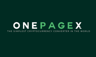 OnePageX - Cryptocurrency Exchange Made Simple