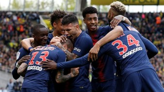 Champion PSG in France!