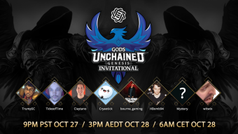 Gods Unchained Update! Genesis Invitational, Play to Earn system, and Genesis Pack Giveaway