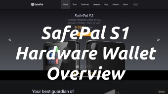 SafePal S1 Hardware Wallet Overview