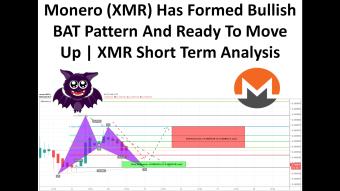 Monero (XMR) Has Formed Bullish BAT Pattern And Ready To Move Up | XMR Short Term Analysis