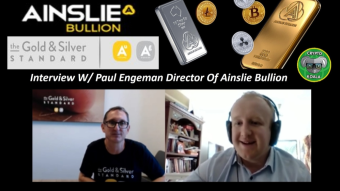 Gold & Silver Digital Assets - A New Way To Buy & Own Gold & Silver On The Blockchain - W/ Paul Engeman