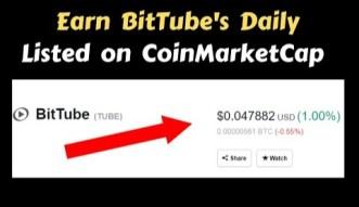 Earn BitTube Coins Daily