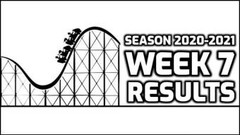 Week 7 Results   36W-21L-5P   +3.696 Units Profit