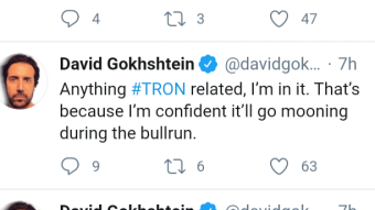 Tron to overtake Ethereum?