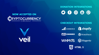 Payment gateway Cryptocurrency Checkout integrates Veil