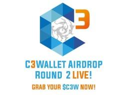 Round 2 - C3Wallet Limited Airdrop! (Already listen on exchange) $8 value