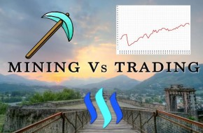 Which is better mining or trading in 2019