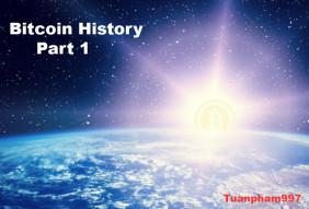 Bitcoin History [Part 1]: Origin