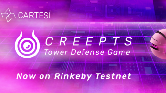 Creepts Tower Defense DApp - Testnet Launch