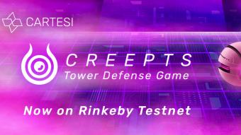 Creepts Tower Defense DApp - TestnetLaunch