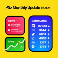 BANANO Monthly Update August 2019