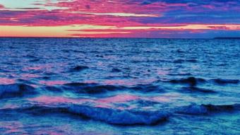 Photography : Sunset on Lake Superior Canada