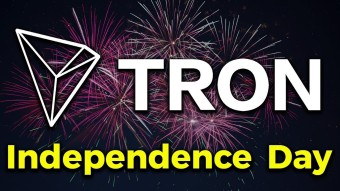 Tron celebrate  Independence Day