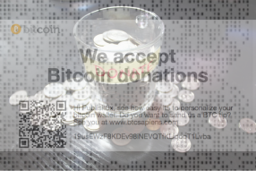 The easiest way to start accepting bitcoin