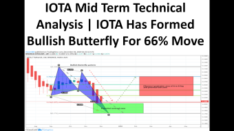 IOTA Mid Term Technical Analysis | IOTA Has Formed Bullish Butterfly For 66% Bullish Move