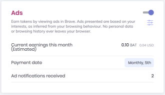 Friday Update - Brave Enables Payments For Watching Ads