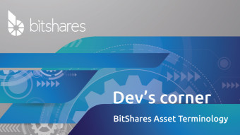 BitShares Asset Terminology